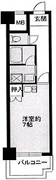Nasu1ビル[4階]の間取り