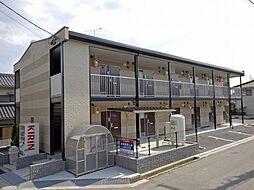 広島県三原市本郷北4丁目の賃貸アパートの外観