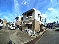 兵庫県宝塚市安倉中4丁目の賃貸アパートの外観