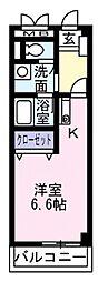 Square三鷹(スクエア三鷹)[3階]の間取り