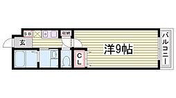カーサ大塚[2階]の間取り