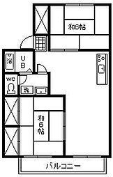 池田ファミリーゼーション[F103号室]の間取り