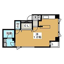 テラスWAT2302[3階]の間取り