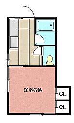 フルハウス[103号室]の間取り