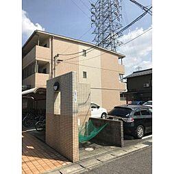愛知県北名古屋市熊之庄古井の賃貸マンションの外観