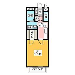 alveare[2階]の間取り