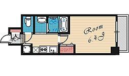 フレアコート梅田[1206号室号室]の間取り