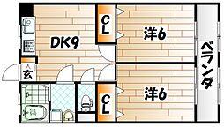 フェルト730II[3階]の間取り