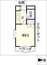 ウィング[1階]の間取り
