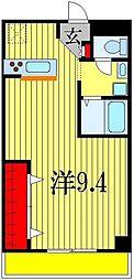 メゾンシャトレ[1階]の間取り