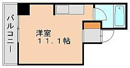 博多ニッコーハイツアネックス[7階]の間取り