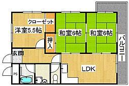 ピュアネスDOI[2階]の間取り