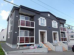 北海道札幌市手稲区富丘三条7丁目の賃貸アパートの外観