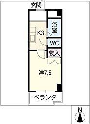 第3長岡マンション[5階]の間取り