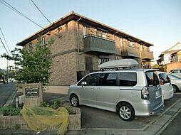 愛知県清須市廻間1丁目の賃貸アパートの外観