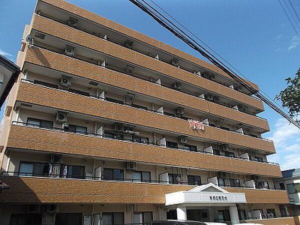 ホポロ東万代[1階]の外観
