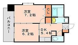カーサマニフィック[3階]の間取り