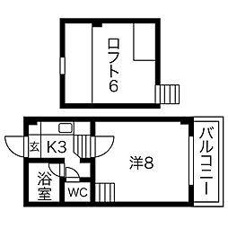 矢田駅 4.2万円