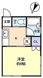 いわせハウス[2階]の間取り