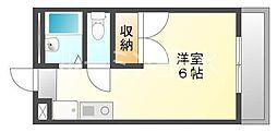 兵庫県加東市喜田2丁目の賃貸アパートの間取り