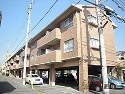 愛媛県松山市土居田町の賃貸マンションの外観