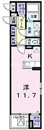 東ハゼ町マンション(023080301)[4階]の間取り