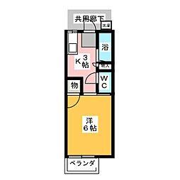 プリマベーラ緑[2階]の間取り