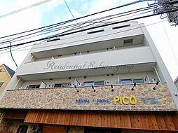 神奈川県藤沢市片瀬海岸1丁目の賃貸マンションの外観