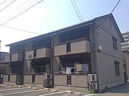 埼玉県東松山市箭弓町1丁目の賃貸アパートの外観
