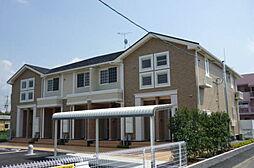 滋賀県守山市勝部2丁目の賃貸アパートの外観