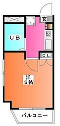 プライム王子神谷[1階]の間取り
