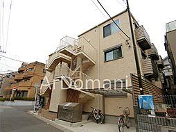 千葉県松戸市小根本の賃貸アパートの外観