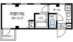ウェルフラット[3階]の間取り