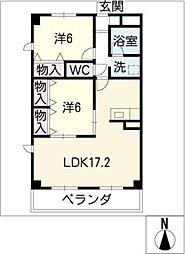 サトウマンション[2階]の間取り