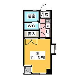 レジデンスまさきII[2階]の間取り