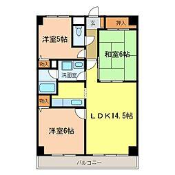 東尾マンション[1階]の間取り