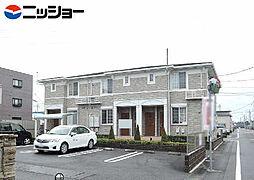 愛知県北名古屋市鍜治ケ一色池田の賃貸アパートの外観