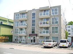 北海道札幌市清田区平岡一条1丁目の賃貸マンションの外観