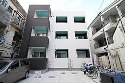 大阪府豊中市服部西町2丁目の賃貸アパートの外観