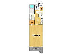 兵庫県伊丹市池尻1丁目の賃貸マンションの間取り