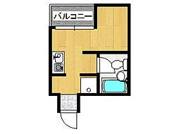 ロイヤルメゾン魚崎II[103号室]の間取り