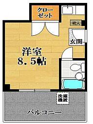 ウインライフ松原 II[5階]の間取り