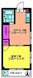 第1宏明ビル[4階]の間取り