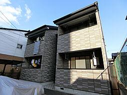 京都府京都市下京区坊門町の賃貸アパートの外観