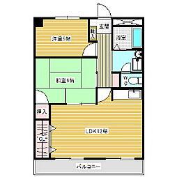 新潟昭和ビル駅南[110号室]の間取り