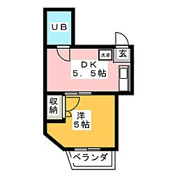 ONDA Residence[2階]の間取り