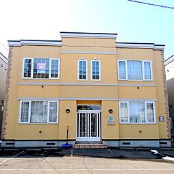 北海道札幌市厚別区厚別西一条1丁目の賃貸アパートの外観
