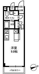 ダイワティアラ津田沼II[301号室]の間取り