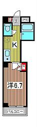 アクシーズⅣ[4階]の間取り