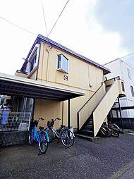 埼玉県所沢市けやき台2丁目の賃貸アパートの外観